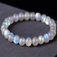 1pcs Grey Moonstone Gemstone bracelet size 6mm pray natural energy Grade