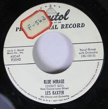 Pop Promo 45 Les Baxter - Blue Mirage / I Ain'T Mad At You On Capitol