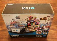 Nintendo Wii U 32 GB Super Mario 3D World Deluxe Set w/ Nintendo Land