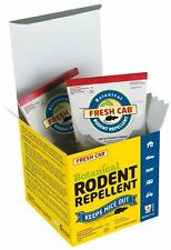 Fresh Cab Botanical Rodent Repellent - Environmentally Friendly, Keeps Mice O.