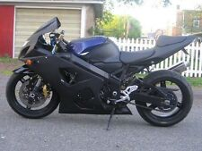 Matte Black Complete Injection Fairing for 2001-2003 Suzuki GSXR 600 750