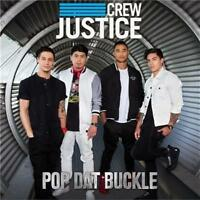 JUSTICE CREW Pop Dat Buckle (Includes Signed Foldout Poster) CD SINGLE NEW