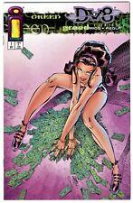 DV8 #1(8/96)J. SCOTT CAMPBELL VARIANT COVER(GREED)WARREN ELLIS/RAMOS(CGC IT)9.8!