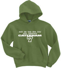 Naughtees Clothing Sudadera ON THE 8th Día Dios Created Caterham poliéster