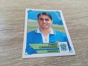 Album Figurine Calciatori Panini 1993 94 Cannavaro Napoli Rookie N 198 NEW Velin
