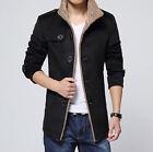 Abrigo Chaqueta Hombre Casual Otoño Fashion Cazadora Jacket invierno PU Moderno
