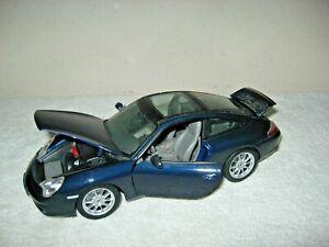 1:18 SCALE Maisto Porsche 911 Targa  Diecast BLUE
