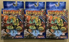 Earthquake Card Game CCG MTG (Factory Sealed) Magic the Gathering