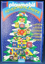 PLAYMOBIL 3850 - ADVENTSKALENDER - Advent kalendar - 1997 - NEU & OVP - New MISB