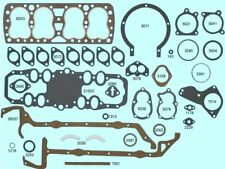 Ford 221 24-stud Flathead Full Engine Gasket Set/Kit BEST GraphTite Head 1938-47