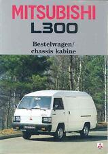 1985 Mitsubishi L300 Van Truck Brochure Dutch wo7404-RB9LF4