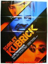 STANLEY KUBRICK Affiche Cinéma 160x120 Movie Poster RETROSPECTIVE Lolita Shining