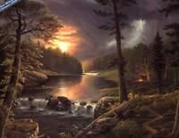 """Jesse Barnes  """" Heaven's Masterpiece """" Artist Proof #189/195 COA Folder (Mint)"""