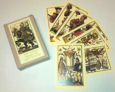 C16th German playing cards of Jost Amman; historic playing cards reproduction
