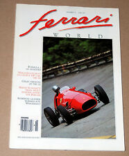 Ferrari World Magazine issue N.15 features 212 Inter Ghia - 500 F2 - More