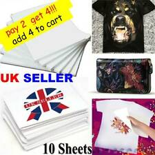 A4 Heat Transfer Paper for DIY T-Shirt Painting Iron-On Paper for Clothing New