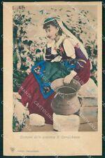 Campobasso Città Costumi cartolina QT1034
