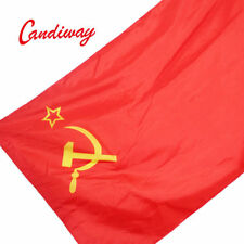 Red CCCP Flag Union of Soviet Socialist Republics USSR FLAG Russian Banner 3*5''