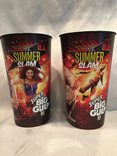 WWE Randy Orton & Eve 2010 Summer Slam Super Big Gulp 44 oz Cup Wrestlemania