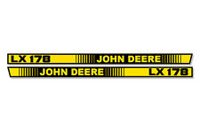 OEM LX 178 Hood Stripes Decal John Deere LX178 Tractor Stickers M116038 M116039