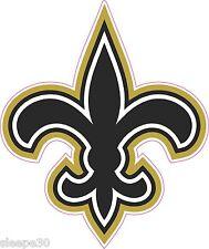 Fleur De Lis Shaped Vinyl Sticker Decal Saints New Orleans *FREE SHIPPING*