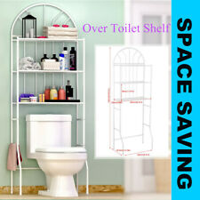 3Tier Over The Toilet Storage Shelves Unit Above Shelf Rack Bathroom Space Saver
