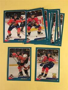 2003/04 Topps Florida Panthers Team Set With Traded 13 Cards