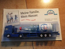 CAMION / TRUCK / LKW  MERCEDES ACTROS ALWA MINERAL WASSER  NEW in box