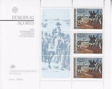 Açores/aménagements bloc 3 ** Europa CEPT 1982