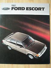 Ford USA Escort brochure 1982