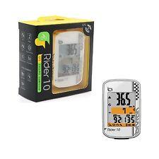 (Ful) Bryton Rider 10E Bluetooth Wireless Cycling GPS / Bike Computer - White