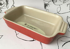 Le Creuset Small Red Casserole Dish Baking Roasting 20cm x 13cm NEW