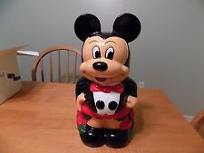 Vintage Mickey and Minnie Mouse Turnabout Cookie Jar