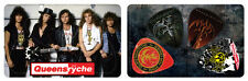 Queensryche Album Covers PikCard Collectible Guitar Picks (4 picks per card)