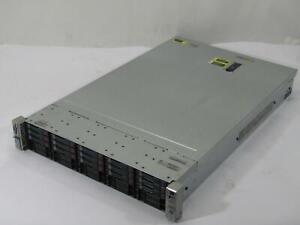 HP Proliant DL380p Gen8 2U Server | 2x 2.50GHz Xeon E5-2640 | 128GB DDR3 | 4.5TB