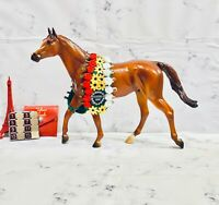 Breyer Horse Traditional Size Justify Famous Racehorse ! COMES WITH ROSETTES !