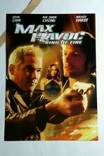 MAX HAVOC RING OF FIRE DEAN CAIN PHOTO MOVIE 5x7 FLYER MINI POSTER (NOT A movie)