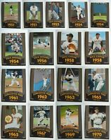 2020 Topps Heritage Willie Mays 20 Seasons Complete Your Set U You Pick List