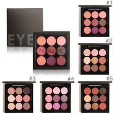 FOCALLURE Palette de 9 Couleur Chaud Fard Ombre à Paupieres Maquillage Eyeshadow