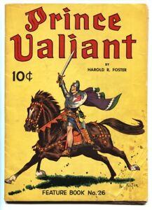 Feature Book #26 1941 1st PRINCE VALIANT comic book