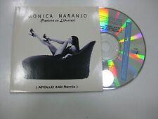 MONICA NARANJO CD SINGLE AUSTRIA PANTERA EN LIBERTAD 1997 PROMO APOLLO 440