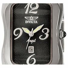 INVICTA 7084 ANGEL SWISS SIGNATURE COLLECTION CURVED CASE LADY SS SAPPHIRE WATCH