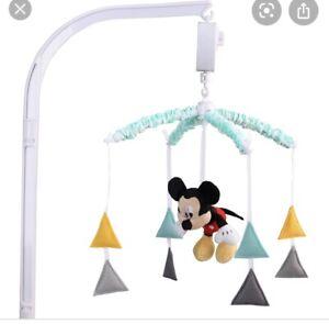 Disney Baby Geo Mickey Cot Mobile Brand New