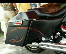 Extended Side Covers Touring Baggers  09-13 Harley Davidson Stretched