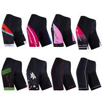 Damen Radfahren Kurze Atmungsaktiv Fahrradhose Gepolstert Rennrad Cycling shorts