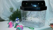 Hawkeye 5-Gallon Panaview Aquarium AQT-785-CFL with Light and Accessories - USED