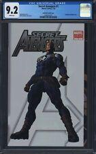 Secret Avengers #1 CGC 9.2 Deodato Rare Variant Gatefold Cover Nova Moon Knight