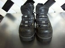 New rock RARE en cuir noir Pointure 5.5 gothique punk steampunk rock metal