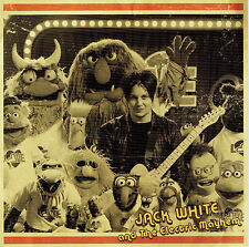 """JACK WHITE & MUPPETS 'Sunshine of My Life 7"""" Black Record Store Day 2018 Stripes"""
