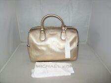 Michael Kors Handbag Studio Mercer Medium Duffel, Satchel Shoulder Bag $298 Gold